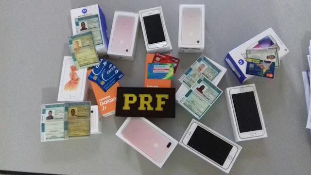 PRF detém três pessoas acusados de estelionato em Cajati