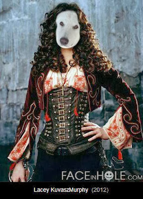 lacey kuvasz shares her face in holecom pictures they look like good halloween costumes to me