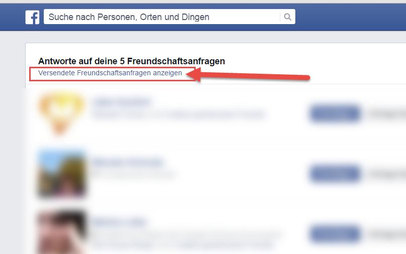 Nicht sichtbar freundschaftsanfrage facebook Facebook Freundschaftsanfrage