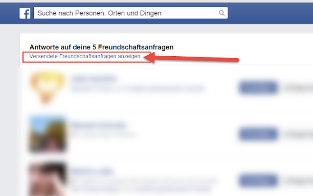 Facebook Freundschaftsanfrage Verschwunden
