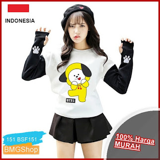 BSF151 Sweater Roundhand Chimmy Bt21 BMGShop