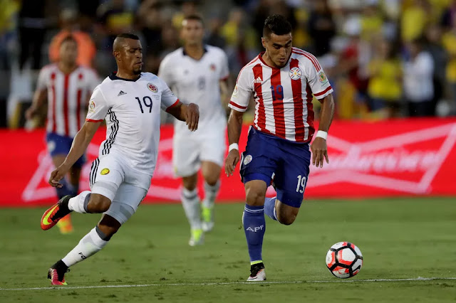 Colombia vs Paraguay Kickoff Time, TV channel, live stream