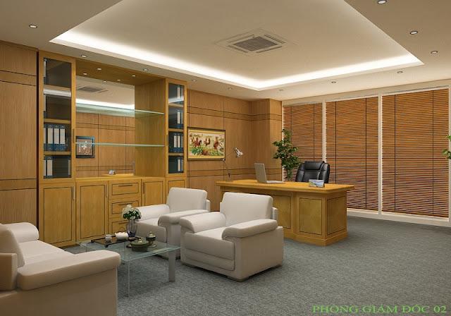 Tư vấn thiết kế nội thất phòng giám đốc đẹp - H1