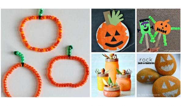 A Sample About How To Make Simple Pumpkin Crafts