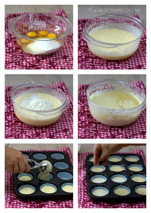step by step muffins