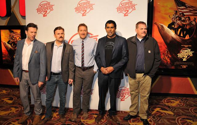 Jay Chandrasekhar, Kevin Heffernan, Erik Stolhanske, Steve Lemme, Paul Soter