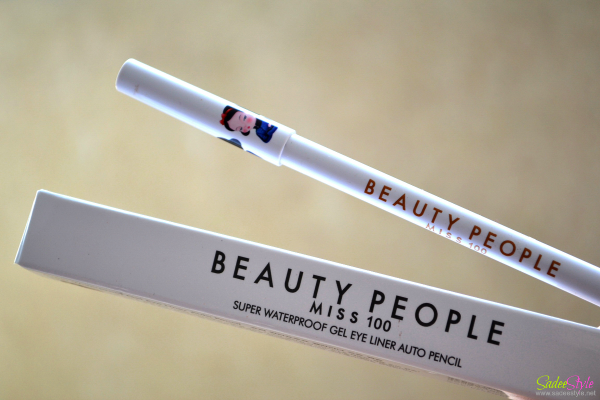Beauty People Miss 100 Super Waterproof Gel Liner Auto Pencil.