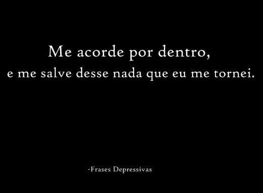 Frases Depressivas Tristes 2013