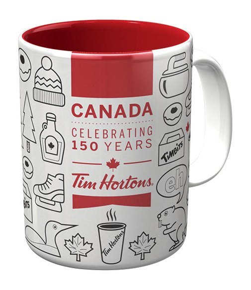 Tim Hortons Canada Celebrating 150 Years Coffee Mug