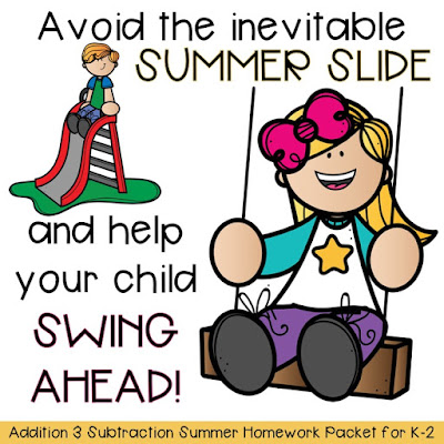Research shows students lose a lot of learning from the previous year over the summer due to time off. Avoid the summer slide with these addition and subtraction worksheets.