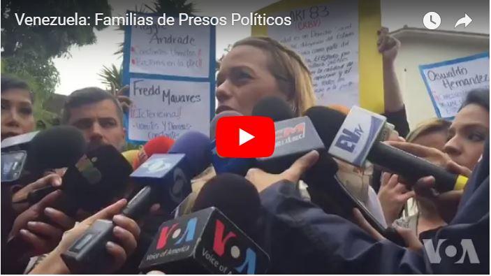 Lilian Tintori le lanzó con todo a Luisa Ortega Díaz por detención de Leopoldo Lopez
