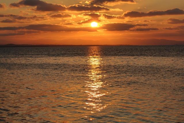 Atardecer en Islas de San Blas