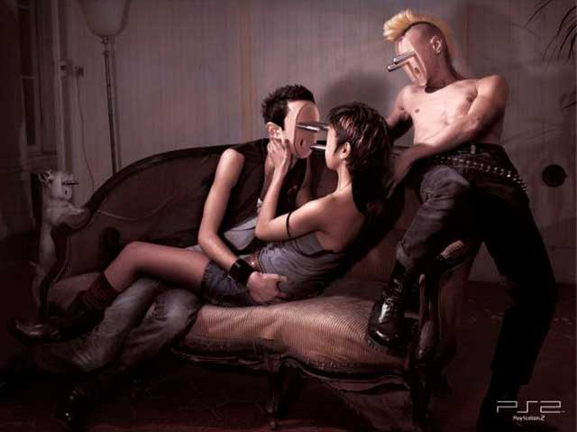 40 Most Creative & Controversial PlayStation Ads Image 35