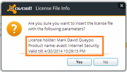 Avast Internet Security 8 Final Full License Key - Tips ...