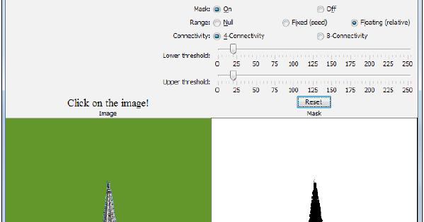 OpenCV 3 0 Vision with Java: Flood filling
