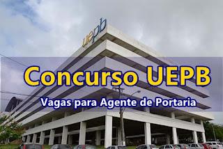 concurso UEPB Agente de Portaria