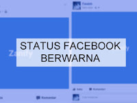 Cara Membuat Status Facebook Background Berwarna