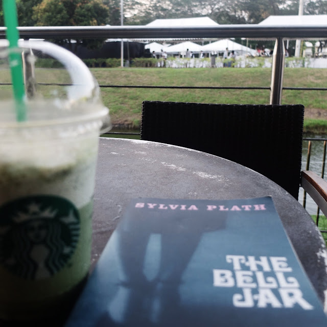 Reading The Bell Jar, Starbucks