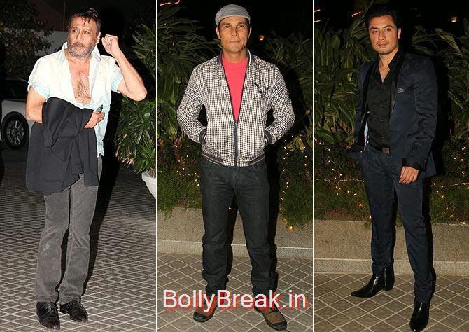 Jackie Shroff, Randeep Hooda and Ali Fazal, Bollywood Celebrities At Farah Khan's GRAND 50th Birthday Party