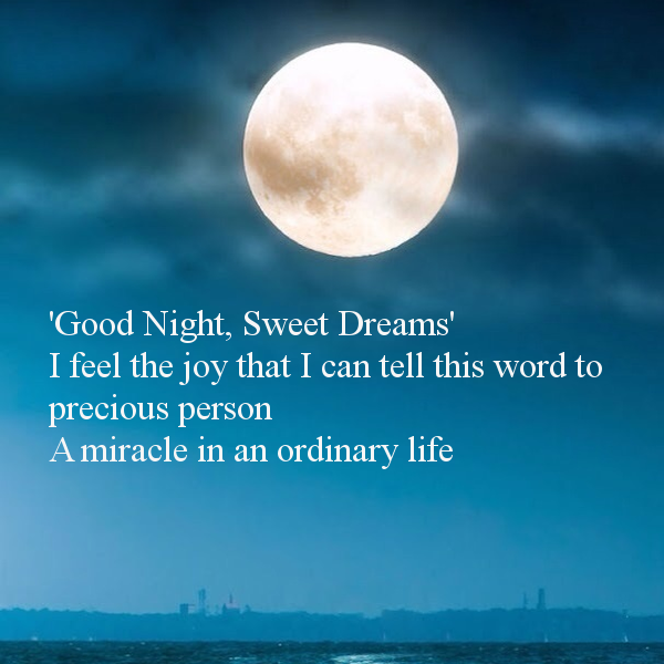 Dreams good night
