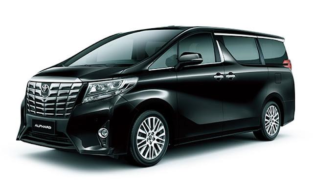 Gambar Toyota Alphard Hitam