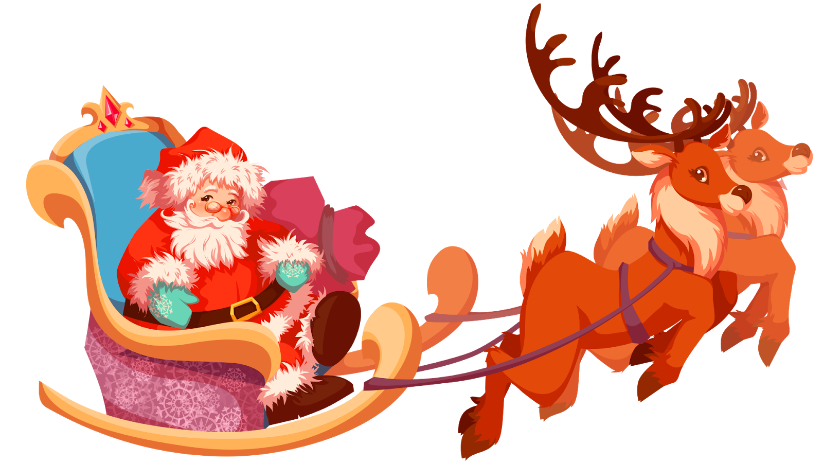 Cosas En PNG: Santa En .png