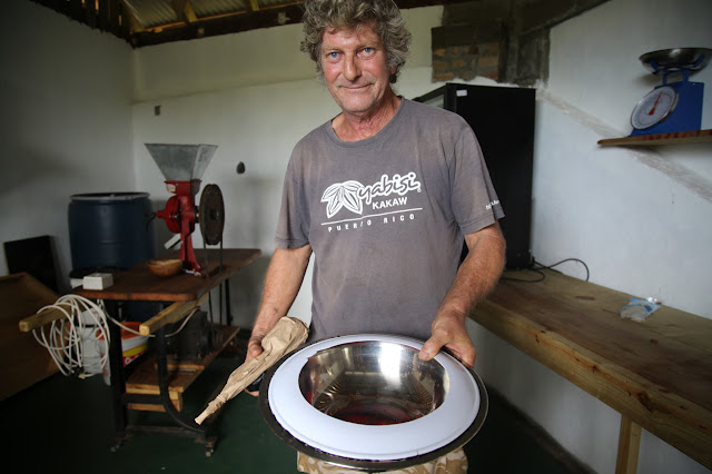 captain chaos, Kim Russell, farmer of crayfish bay farm, grenada