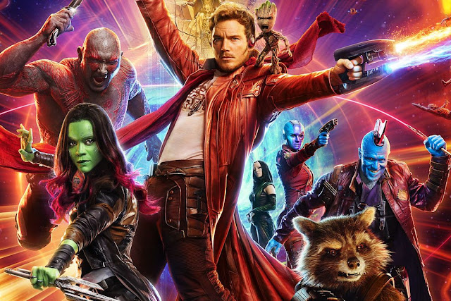 Guardians of the Galaxy Vol. 2 2018 Dual Audio ORG BRRip 480p 400mb ESub x264