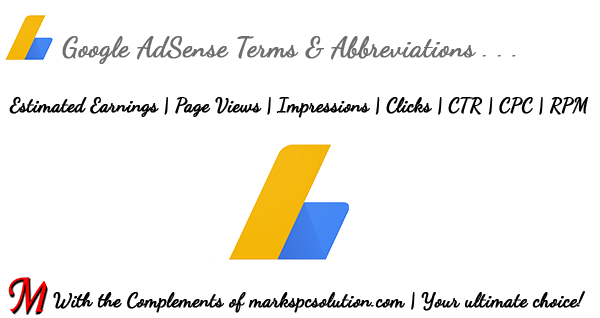 Common AdSense Terms & Abbreviations
