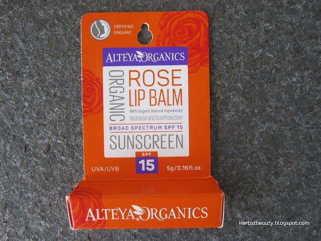 Alteya Organics Lip Balm SPF 15