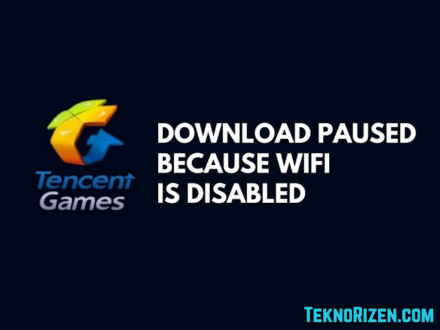 Mengatasi Download Pause Because WiFi is Disabled PUBG Mobile Mengatasi Download Pause Because WiFi is Disabled PUBG Mobile