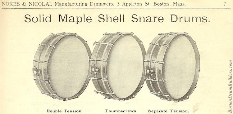 Nokes & Nicolai American Drummer No. 5, ca. 1914