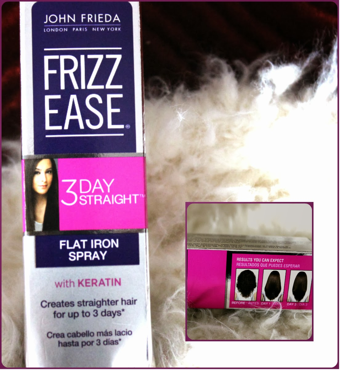 John Frieda Frizz Ease 3-Day Straight Flat Iron Spray Review