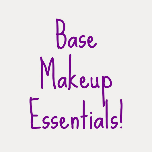 My Everyday Base Makeup Essentials + Quick Review!