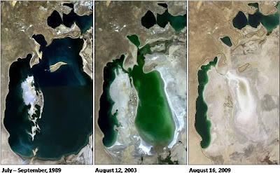 Lautan Yang Berubah Menjadi Gurun Pasir