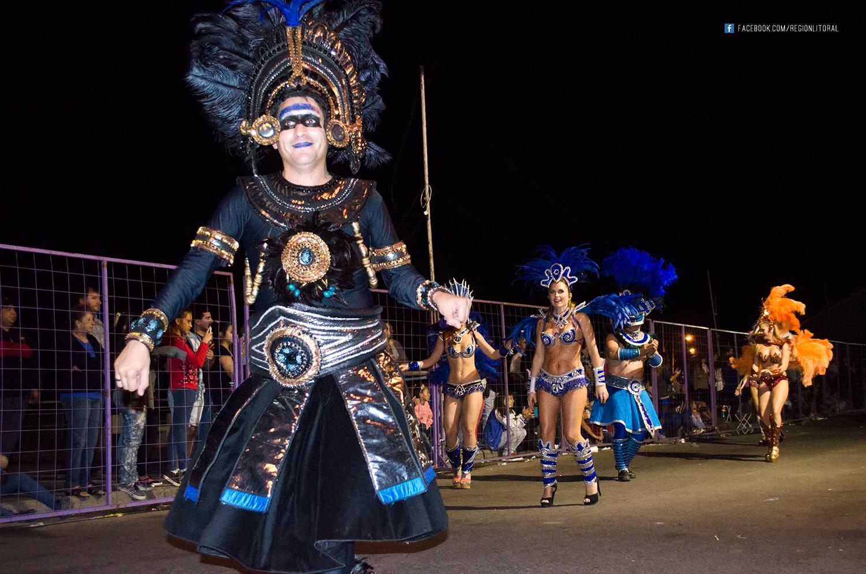 Kamarr en el Carnaval de Parana
