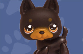 LPS Dobermann Figures