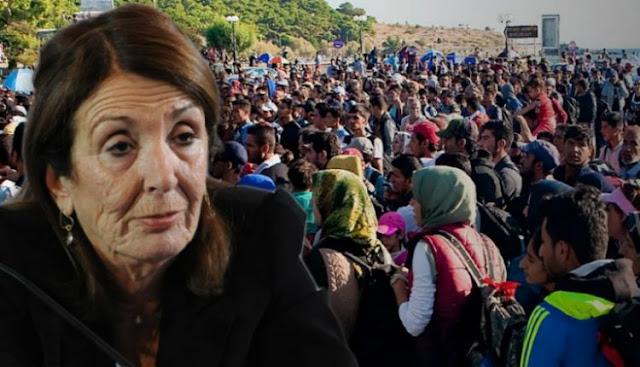 Χριστοδουλοπούλου: «Δεν πρέπει να γίνουμε χώρος φιλοξενίας για πρόσφυγες»