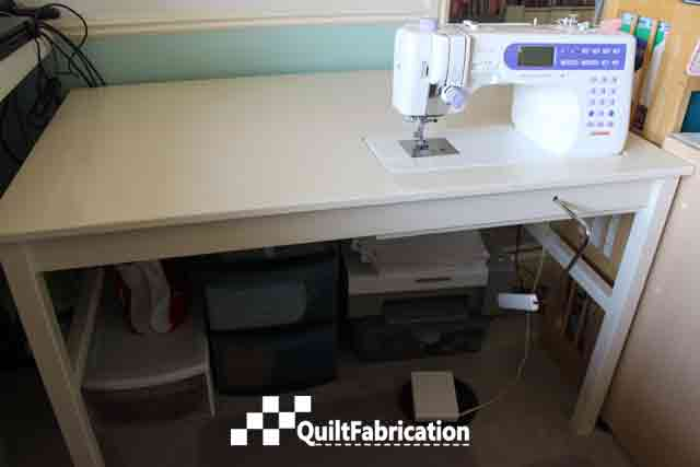 Ikea Ingo hack sewing table