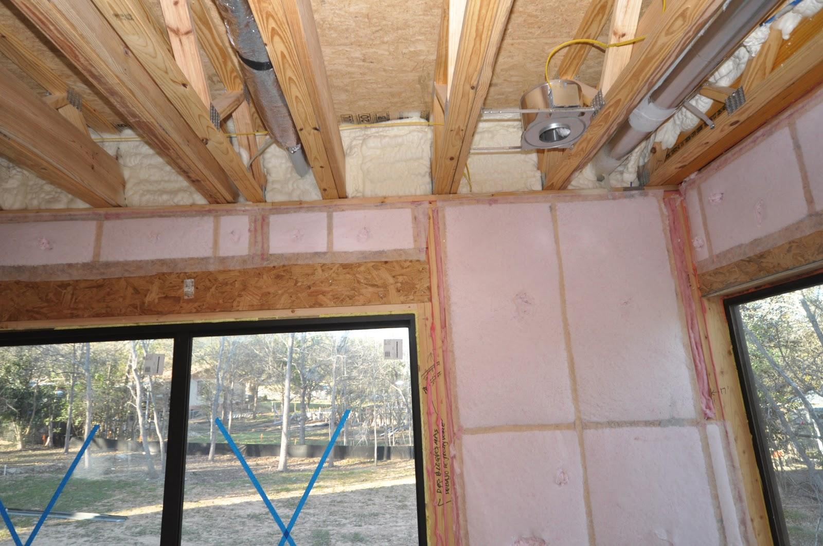 Insulating An Advanced-Framed House