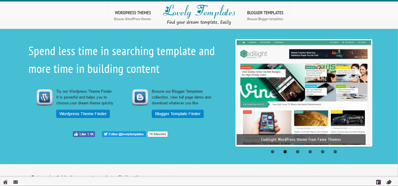 Lovely Blogger Templates