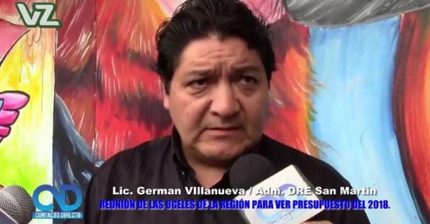 DRE San Martín coordina con las UGEL de la región sobre Presupuesto 2018 [VIDEO] www.dresanmartin.gob.pe