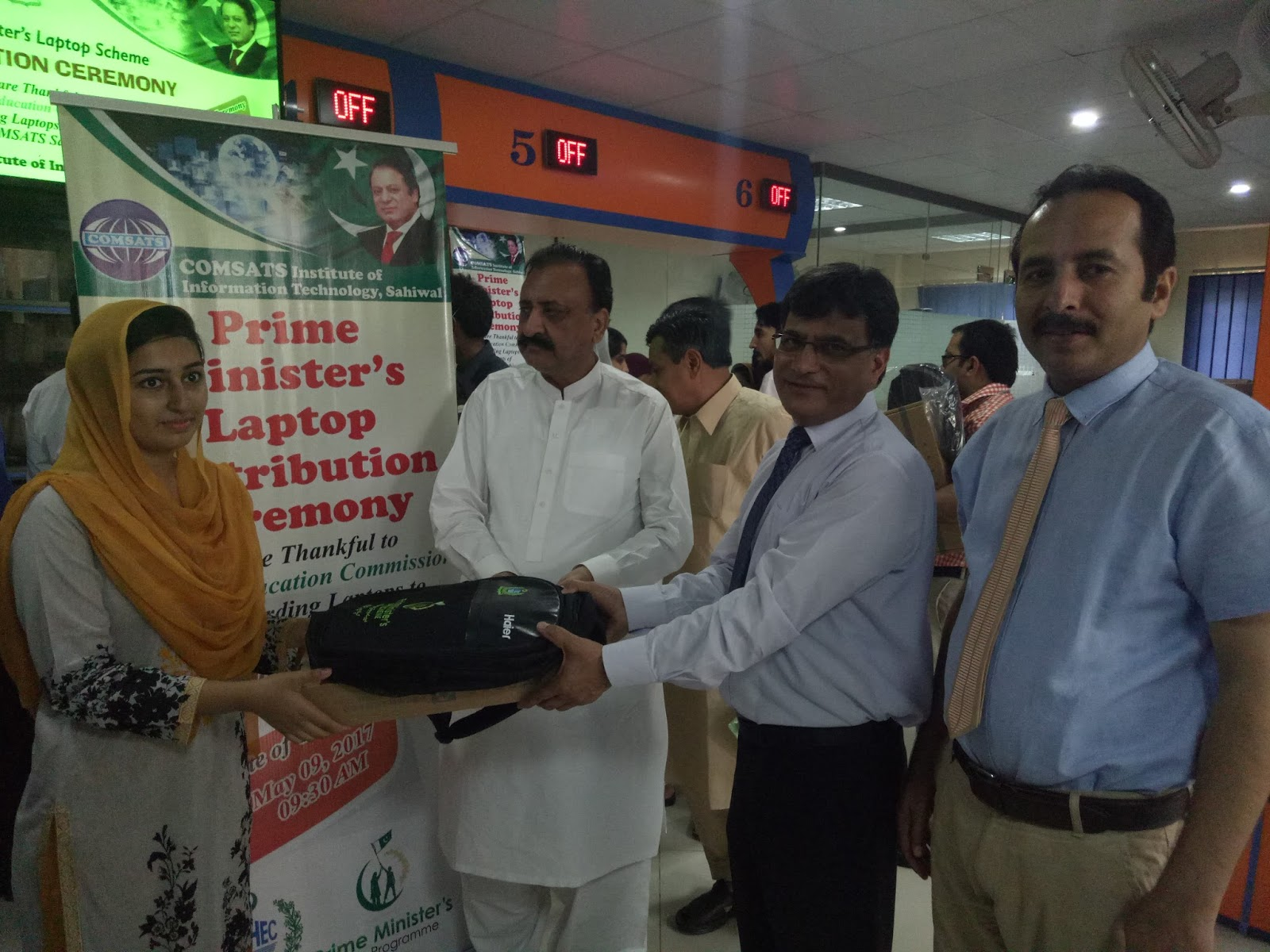 COMSATS Sahiwal Have Been Awarded Laptops - GlobalBussiness