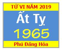 Tử Vi Tuổi Ất Tỵ 1965 Năm 2019 Nam Mạng - Nữ Mạng