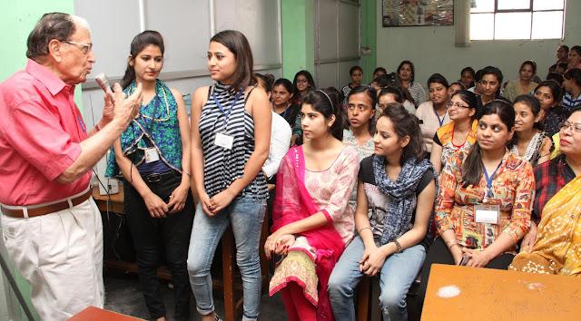 Conducting Workshop on Fashion Innovations Skill Development in Savitri Polytechnic