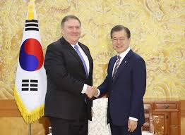 Trump-Kim summit: Mike Pompeo thanks South Korean president Moon Jae-in for playing facilitative role in meeting