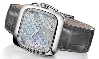 Gucci Coupé Timepiece with Diamonds