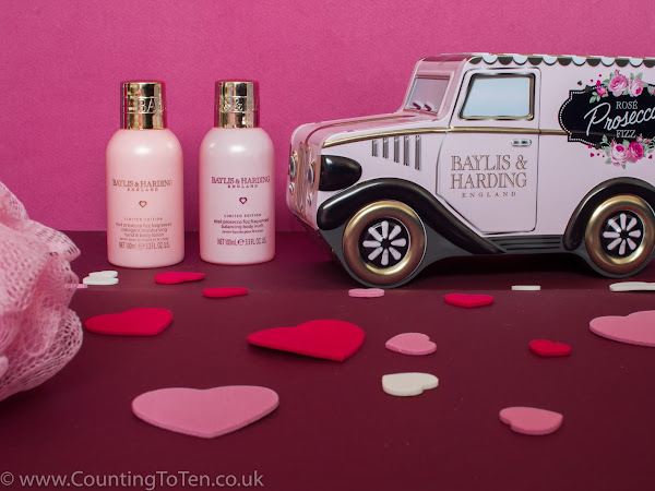 Happy Valentine's With Baylis & Harding With Their Rosé Prosecco Fizz Range | Review