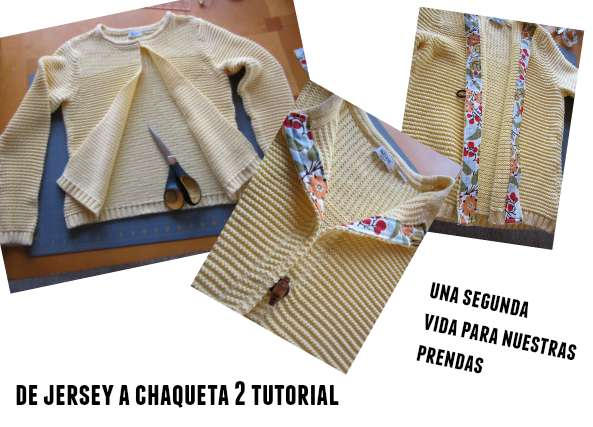 tunear, customizar, refashion, bricomoda, chaqueta, jersery, costura