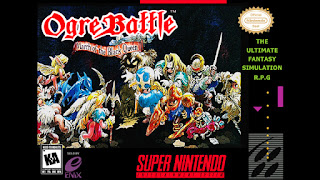Ogre Battle: The March of the Black Queen  (BR) [ SNES ]